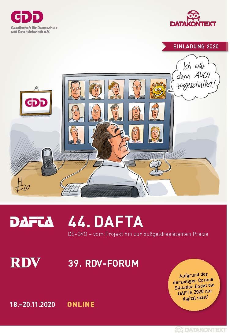 44. DAFTA + 39. RDV-Forum